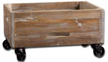 Uttermost 24247 - Uttermost Stratford Reclaimed Wood Rolling Box