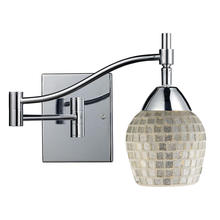 ELK Lighting 10151/1PC-SLV - Celina 1 Light Swingarm Sconce In Polished Chrom