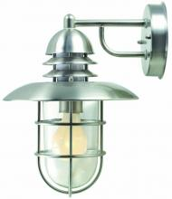 Lite Source Inc. LS-1468STS - #Outdoor Wall-Lamp Stainless Steel, 60W/A Type