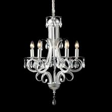 Z-Lite 849S - 5 Light Crystal Chandelier