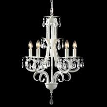 Z-Lite 849W - 5 Light Crystal Chandelier