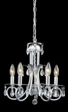 Z-Lite 852S - 5 Light Crystal Chandelier