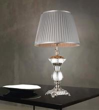 Crystal World 5202T15S - 1 Light Silver Table Lamp from our Yale collection