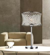 Crystal World 5300T12C - 1 Light Table Lamp with Chrome finish
