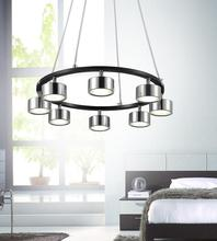 Crystal World 5446P20C-LED - LED Chrome Down Pendant from our Trail collection