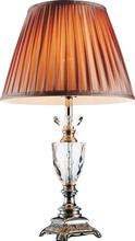 Crystal World 5515T14BN - 1 Light Table Lamp with Brushed Nickel finish