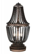 Crystal World 9727T13-2-211 - 2 Light Table Lamp with Antique Bronze finish