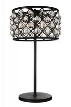 Crystal World 9862T16-4-101 - 4 Light Table Lamp with Black finish