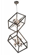 Crystal World 9891P11-8-183 - 8 Light Luxor Silver Up Mini Chandelier from our Tapi collection