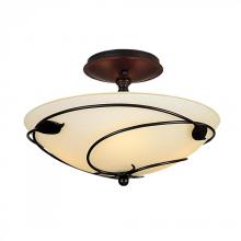 Hubbardton Forge 126712-SKT-03-GG0048 - Forged Leaves Semi-Flush